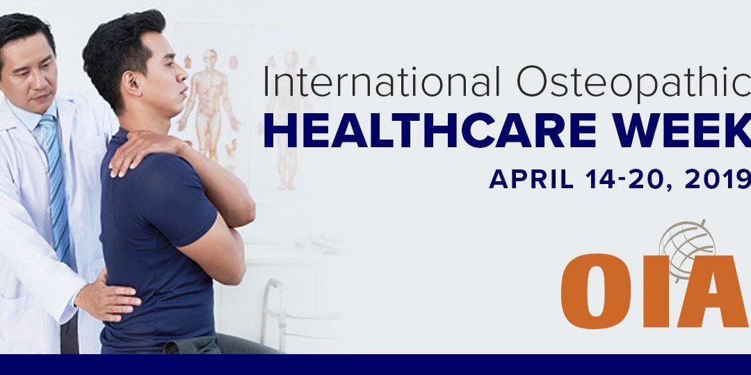 Semaine des soins Ostéopathe